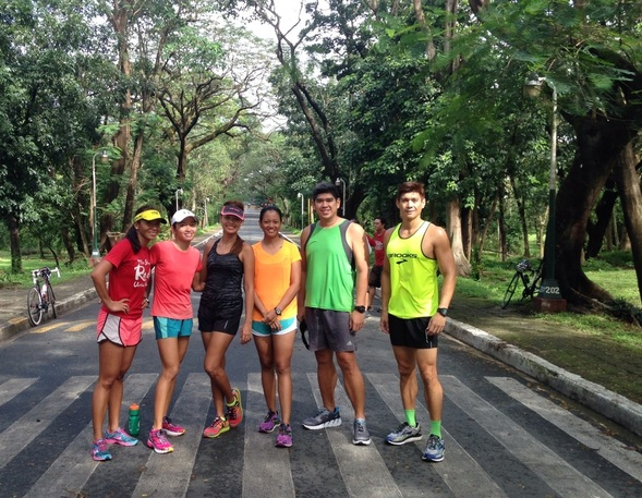 Brooks Running UP Diliman Ghost 7 Monica Torres triathlon triathlete